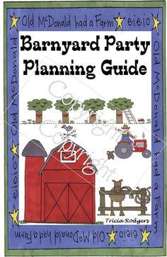 Here's an 'Almanac' to planning a FARM-tastic Barnyard Birthday Party!
