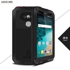 For LG G5 SE Case Capa LOVE MEI Powerful Life Waterproof Aluminum Luxury Metal Hosuing Cover Coque for LG G5 H860N with Glass