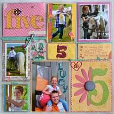 Close to My Heart from ScrappyHorses.ctmh.com; pocket style layout;