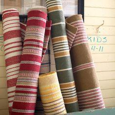 MASINFINITO CASA - Alfombra Dash & Albert Birmingham Red Woven Cotton