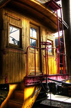 Yellow Caboose.