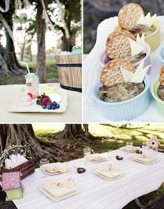 Beautiful and simple Easter Brunch Deco