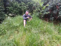 Hiding in the long grass - #LaserTag