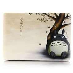 Flower Cartoon Map Color Pattern Hard Case Cover For Apple Macbook Air 11 13 Pro