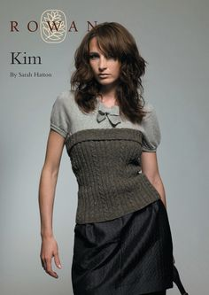 Kim Top in Rowan Felted Tweed Dk. Discover more Patterns by Rowan at LoveKnitting. We stock patterns, yarn, needles and books from all of your favorite brands.