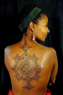 TATTOO: Ethiopian Coptic Cross (Meskel) Design | Euro-African Life in Namibia