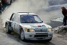 #AriVatanen #Peugeot #Peugeot205 #RallyeMonteCarlo #WRC #GroupB #Rally #Cars…