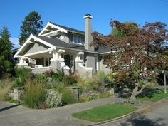 My Dream Home: Craftsman style.  Dream Location: Portland, Oregon.   Check, and check!