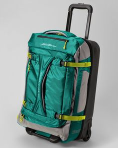 I badly need a new suitcase and this one from Eddie Bauer looks perfect--very attractive, excellent storage, and light.