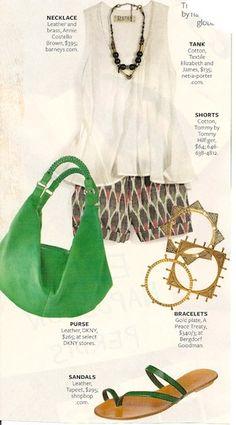 InStyle magazine -- issue unknown