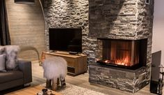 Cosy up by the fire after a day on the slopes #HomeDecor #Home #Property#RealEstate #EstateAgent #Realtor#Design #Ski #Skiing #France #Alpine#Sports #Winter #Maison #Designer #Luxe#Propriété #лыжа #Главная #роскошь #HouseHunting #NewHome #Luxury #Lifestyle #Interiors #InteriorDesign #HomeDesign #ApresSki