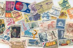United States postage stamps scrapbooking by gracealleytreasures, $2.25
