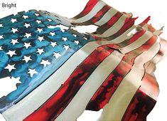 Semi Truck Side Decals American Usa Flag Tear Boat Trailer