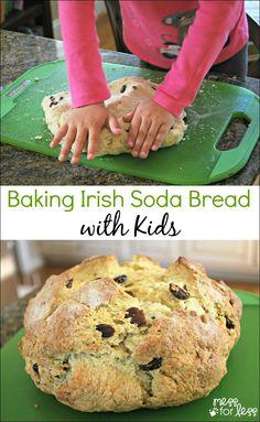 Irish Soda Bread Recipe - Food Fun Friday | Mess For Less
