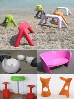 Karim Rashid brings out new plastic furniture from Slide