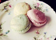 Macarons Photography   Un Deux Trois   Shabby by JessaMaePhoto, $25.00  http://www.etsy.com/treasury/NTc1ODEzN3wyNzIyNzk3NzM2/invitation-to-tea