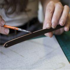 Leather Bracelet Donum Paris #savoirfaire #luxe #artisanat #madeinfrance #paris #handmade #braceletcuir #faitmain #cadeau #cadeaufemme #gift