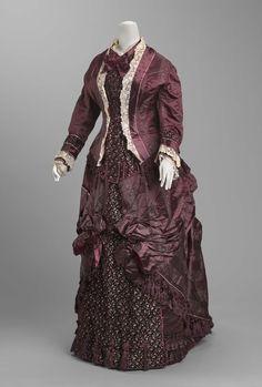 omgthatdress:  Dress 1882 The Museum of Fine Arts, Boston
