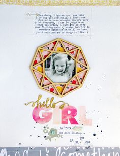 hello girl by ginny - Scrapbooking Kits, Paper & Supplies, Ideas & More at StudioCalico.com!