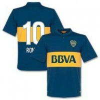 Boca Juniors Roman #10 2014-15 season Home Jersey