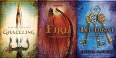 If you like fantasy books (which I do!) this series is a must. Graceling is good… If you like fantasy books (which I do!) this series is a must. Graceling is good. Fire is great. Can not wait for Bitterblue. Top Ten Books, Ya Books, I Love Books, Great Books, Books To Read, Amazing Books, Popular Book Series, Most Popular Books, Jhon Green