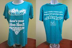 Love it, I want one, encourage awareness ladies | Women & Girl's Cancer Alliance | wgcancer.org