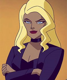 Black Canary Comic, Hybrid Moments, Instagram Cartoon, Cartoon Cartoon, Bruce Timm, Cartoon Profile Pictures, Young Justice, Albedo, Dc Heroes