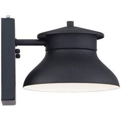 "LED Energy Efficient Black 6"" High Outdoor Wall Light - #5Y088 