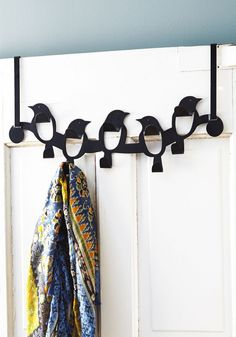 Hooked On a Steel Wing Door Hooks | Mod Retro Vintage Decor Accessories | ModCloth.com