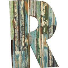 <p> This Barn Wood Letter wooden wall plaque is hand made in the USA.This letter makes the perfect weathered decorative accent.