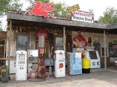 Hackberry General Store in Kingman, AZ Route 66 paraphernalia