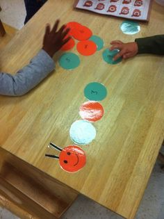 For a fun activity to practice number counting or order, the preschool students put this caterpillar number puzzle in order from 1-10.      Draw and cut out circles for each piece of the caterpillar. Draw a face on the first one and number each of the other ...