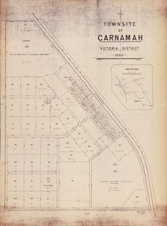 CARNAMAH Cadastral map showing land use. Includes locality plan. Part of collection: Townsite maps, Western Australia. https://encore.slwa.wa.gov.au/iii/encore/record/C__Rb1873754