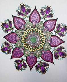 ColorIt Mandalas Volume 1 Colorist: Sharlene Chase Evans #adultcoloring #coloringforadults #adultcoloringpages