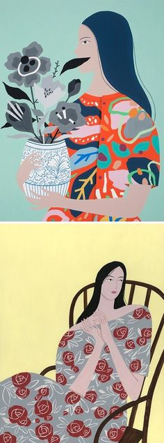 Illustrations by Ayumi Takahashi / on the Blog!