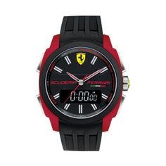 Scuderia Ferrari - Mens Aerodinamico Chronograph Watch - 0830121 - Online Price: £175.00