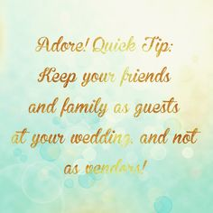Appreciate the love & support of your friends and family and celebrate this milestone together! #weddingplanningtip #celebration