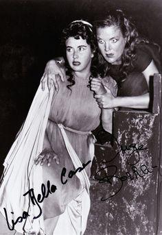 Lisa Della Casa and Inge Borkh