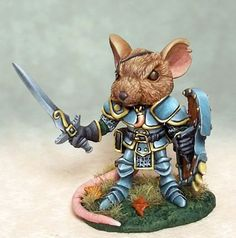 Mouse Warrior - Anthropomorphic Animals. - did anyone else think Redwall?