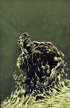 Swamp Thing by Bernie Wrightson.