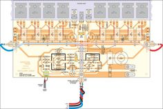 me ~ 350 Studio Amplifier Circuit Scheme and PCB Layout - Amplifier Circuit Design în 2019 ~ 12 nov. 350 Studio Amplifier Circuit Scheme and PCB Layout - Amplifier Circuit Design Electronic Engineering, Electrical Engineering, Electronic Circuit, Yamaha Audio, Hifi Amplifier, Crown Amplifier, Hifi Stereo, Audiophile, Electrical Circuit Diagram