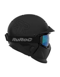 Ruroc Core snowboard helmet in matte black. Cool Motorcycle Helmets, Cool Motorcycles, Bicycle Helmet, Riding Helmets, Snowboarding, Skiing, Sports Helmet, Second Best, Parkour