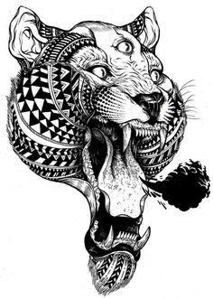 Three Eyed Lion by NoisyBoy375
