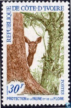 1968 Ivory Coast [CIV] - Nature Protection
