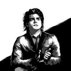 Drew gerard way  #gerardway #mychemicalromance  #digitalart #ink #inking #blackandwhite #illustration #illustrator #photoshop #adobe #drawing #portrait #bold #comics #umbrellaacademy #netflix #spotify #music #artist #rock #emo #boldart #youtube #timelapse #speeddraw  @gerardway