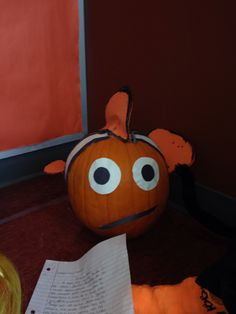 Nemo pumpkin book report