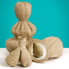 Woven vessels | Matali Crasset in collaboration with Zimbabwean weavers