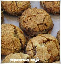 Elmalı Bisküvi-Atıştırmalık tarifler – The Most Practical and Easy Recipes Apple Cookies, Sweet Cookies, Cake Cookies, Apple Cake, Homemade Desserts, No Bake Desserts, Dessert Recipes, Recipe Mix, Turkish Recipes