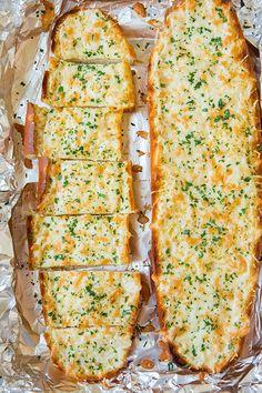 Cheesy Garlic Bread FoodBlogs.com