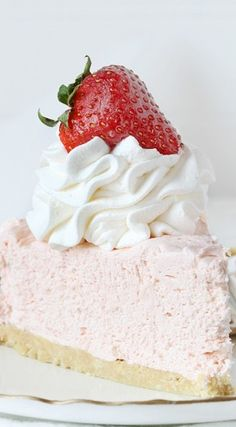 no bake strawberry cheesecake can make WW friendly by using fat free or reduced fat cream cheese